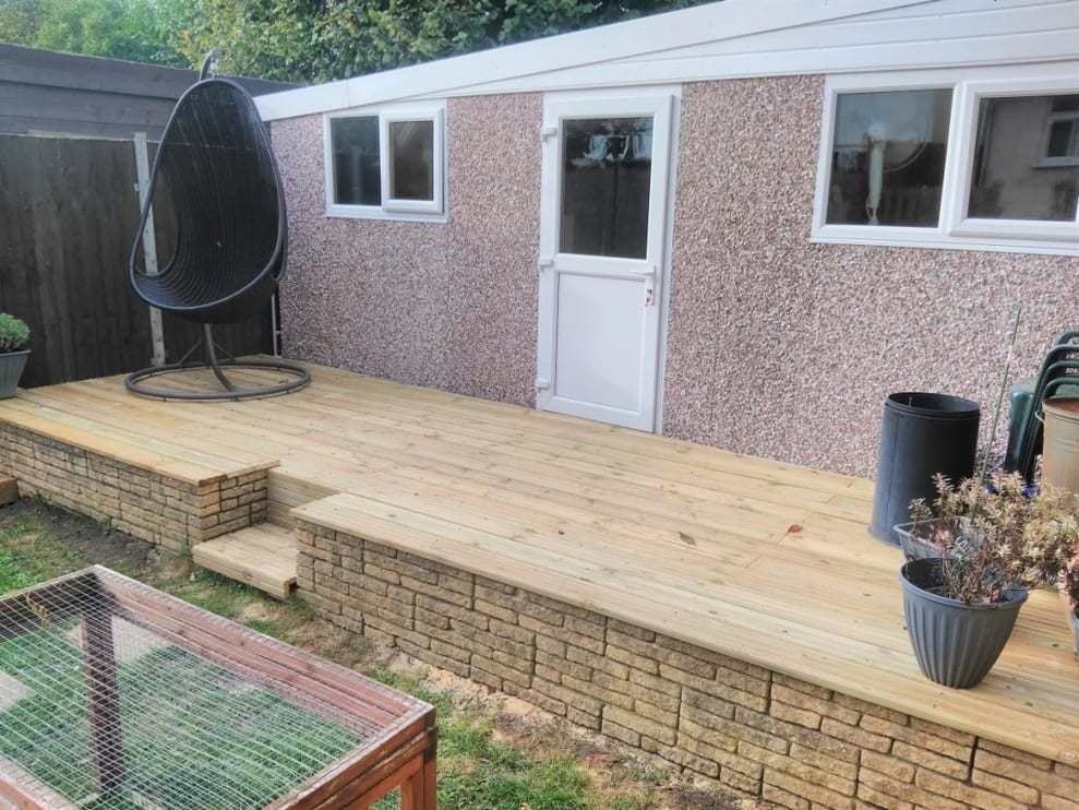 design and install luxury decking